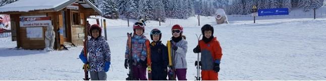 Ski étoilé