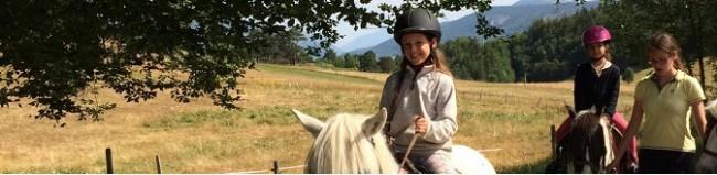 colo équitation dans le Vercors